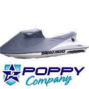 1993-1999 SP/SPI 1993-1995 SPX Sea Doo Cover, Charcoal/Lt Grey